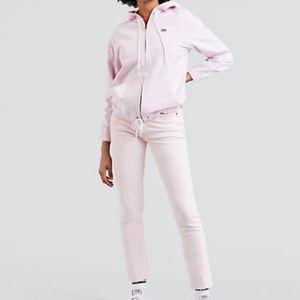 Levi's Skinny 501s pink size 26